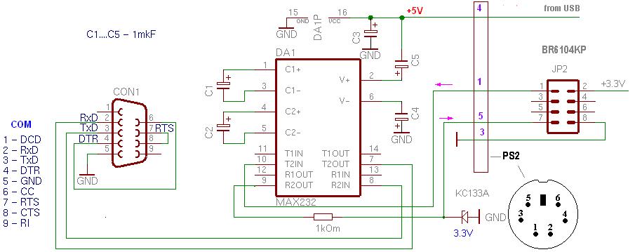 Подборка схем адаптеров для